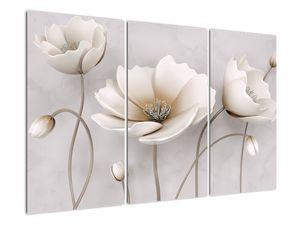 Obraz bílých květin (V020898V120803PCS)