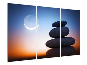 Obraz poskládaných kamenů na sobě (V020903V120803PCS)