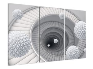 A 3D absztrakció képe (V020975V120803PCS)