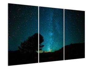 Obraz nočnej oblohy s hviezdami (V021100V120803PCS)