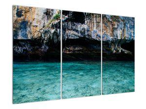 A víz és a sziklák képe (V021152V120803PCS)