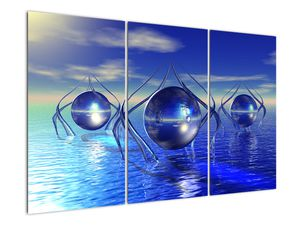 Obraz abstrakce - voda (V021284V120803PCS)
