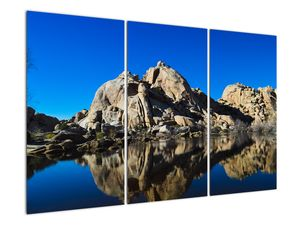 Obraz zrkadlenie skál (V021327V120803PCS)