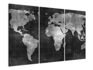 Obraz - Mapa světa (V021461V120803PCS)