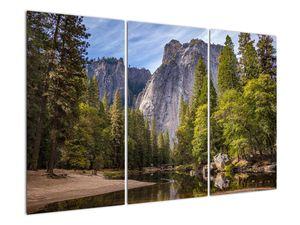 Kép - A Yosemite szikla alatt (V021691V120803PCS)