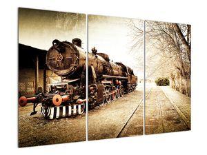 Slika - Povijesna lokomotiva (V021959V120803PCS)