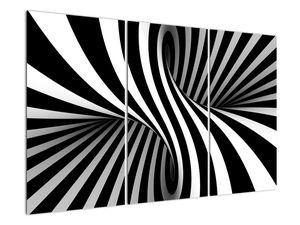 Absztrakt kép zebra csíkokkal (V021960V120803PCS)