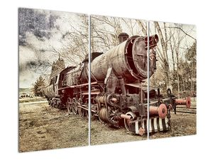 Povijesna slika lokomotive (V021965V120803PCS)