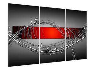 Abstraktionsbild (V022070V120803PCS)