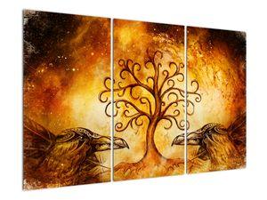 Naravna abstraktna slika drevesa (V022111V120803PCS)