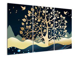 Slika zlatega drevesa (V022286V120803PCS)