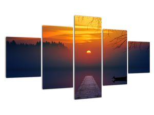 Híd képe naplementekor (V020012V12570)