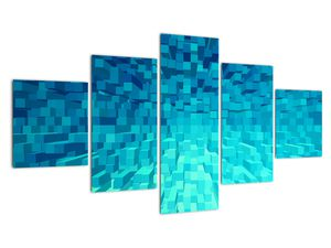 Obraz - abstraktní kostky (V020021V12570)