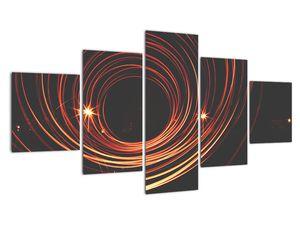Obraz abstraktních linek (V020030V12570)