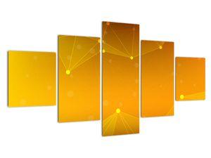 Abstraktní žlutý obraz (V020045V12570)