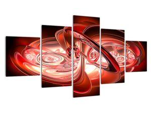 Tablou - forme roșii (V020064V12570)