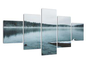 Tablou - lacul nordic înghețat (V020225V12570)
