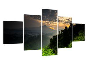 Obraz - zelená horská krajina (V020249V12570)