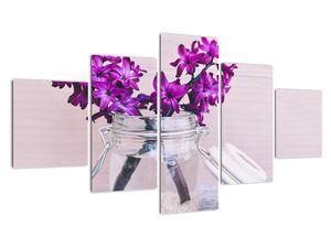 Obraz fialových květin (V020367V12570)