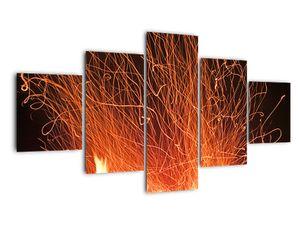 Tablou cu focul (V020437V12570)