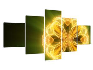 Obraz žluté květiny (V020451V12570)