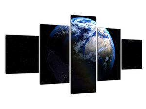 Föld és a Hold képe (V020671V12570)