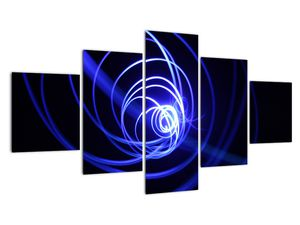 Kék spirálok képe (V020815V12570)