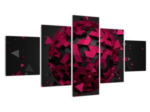 Obraz 3D abstrakce (V020866V12570)