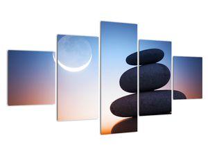 Obraz poskládaných kamenů na sobě (V020903V12570)