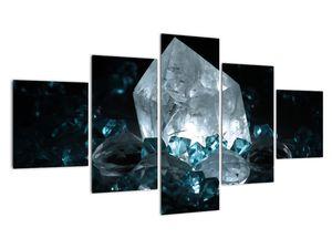 Schilderij - Kristal (V021107V12570)