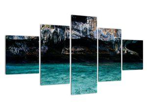 A víz és a sziklák képe (V021152V12570)