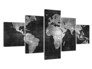 Obraz - Mapa světa (V021461V12570)