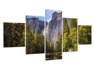 Kép - A Yosemite szikla alatt (V021691V12570)
