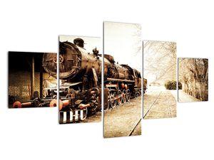 Slika - Povijesna lokomotiva (V021959V12570)