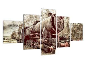 Povijesna slika lokomotive (V021965V12570)