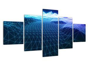 Slika - Planine u računalnom modelu (V022019V12570)