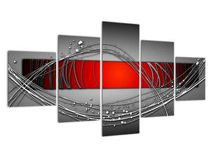 Abstraktionsbild (V022070V12570)
