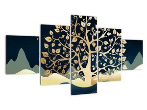 Slika zlatega drevesa (V022286V12570)