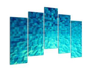 Obraz - abstraktní kostky (V020021V12590)