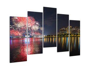 Tablou cu artificii in Singapur (V020035V12590)