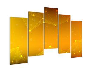 Abstraktní žlutý obraz (V020045V12590)