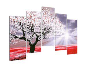 Červený obraz stromu (V020052V12590)