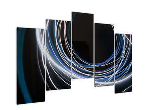 Tablou cu linii albastre (V020053V12590)