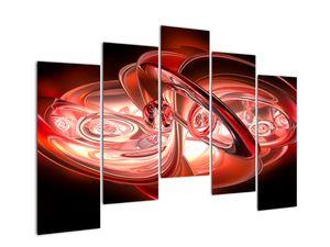Tablou - forme roșii (V020064V12590)