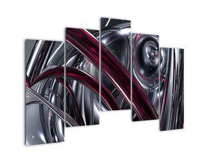 Tablou cu abstracție gri (V020094V12590)