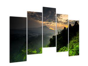 Obraz - zelená horská krajina (V020249V12590)