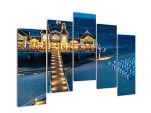 Tablou - hotel pe plajă (V020289V12590)