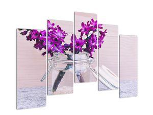 Obraz fialových květin (V020367V12590)