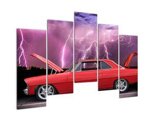 Slika crvenog automobila (V020409V12590)