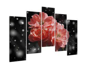 Obraz růžové květiny (V020471V12590)